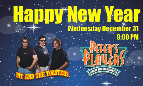 New Years Eve at Peters Players