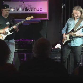 Mark Wigston Sitting in with Blues Legend Matt Schofield
