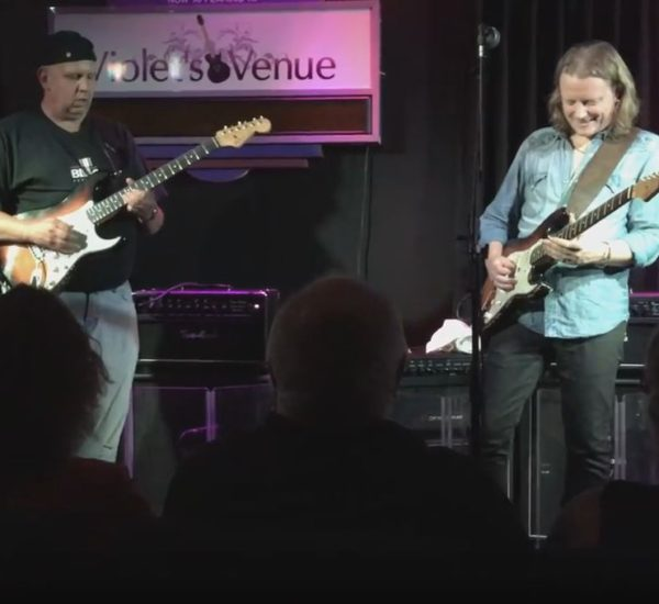 Mark Wigston Sitting in with Blues Legend Matt Schofield
